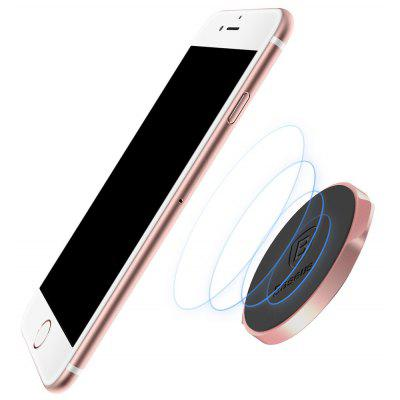 Buy ROSE GOLD Baseus Small Ears Series Magnetic Suction Stand Flat Type for $5.48 in GearBest store