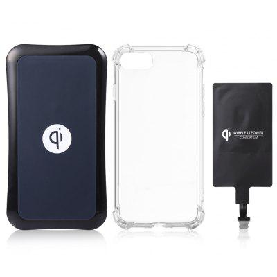 Itian Qi Wireless Charger + Receiver + Case for iPhone 7