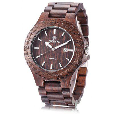 SKONE 7397BG Men Quartz Watch