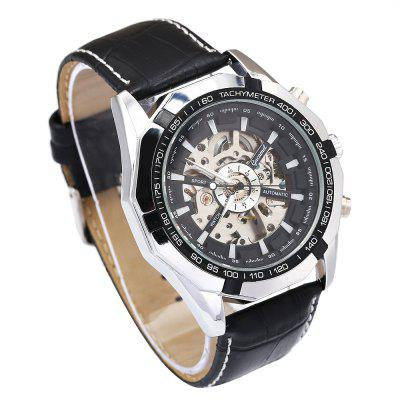 Gucamel G043 Men Auto Mechanical WatchMens Watches<br>Gucamel G043 Men Auto Mechanical Watch<br><br>Band Length: 7.48 inch<br>Band Material Type: Genuine Leather<br>Band Width: 20mm<br>Case material: Alloy<br>Case Shape: Round<br>Clasp type: Pin Buckle<br>Dial Diameter: 1.87 inch<br>Dial Display: Analog<br>Dial Window Material Type: Hardlex<br>Feature: Luminous<br>Gender: Men<br>Movement: Automatic Self-Wind<br>Package Contents: 1 x Watch<br>Package Size(L x W x H): 14.50 x 6.00 x 2.00 cm / 5.71 x 2.36 x 0.79 inches<br>Package weight: 0.1680 kg<br>Product Size(L x W x H): 24.00 x 5.00 x 1.50 cm / 9.45 x 1.97 x 0.59 inches<br>Product weight: 0.1380 kg<br>Style: Business<br>Water Resistance Depth: 30m