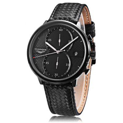 GUANQIN GS19014 Men Quartz Watch