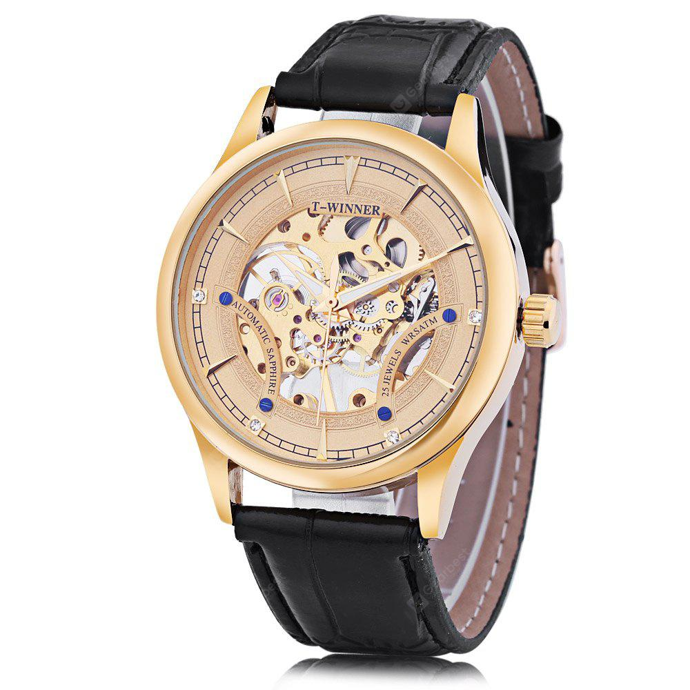Winner A708 Male Mechanical Hand Wind Watch