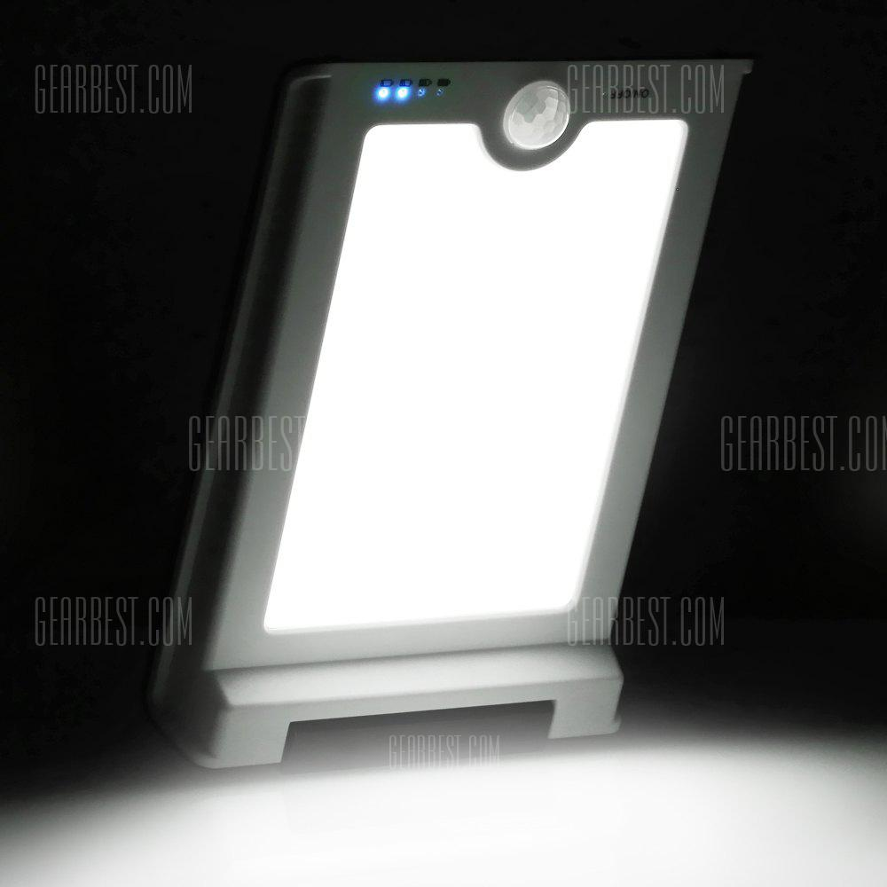 46-LED Solar Light Waterproof and Ultra-thin Wall Lamp
