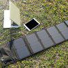 GBtiger 40W Dual Outputs Solar Charger Panel Folding Bag - PRETO