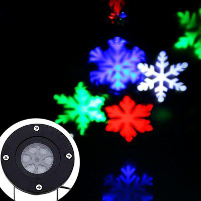 LED Snowflake Light