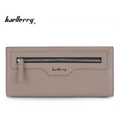 Baellerry Luxury Casual Business Thin Long Card Holder Men Wallet