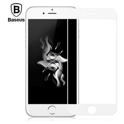Baseus Silk-screen Tempered Glass Film Full-screen Shatterproof Protector for iPhone 8 0.2mm