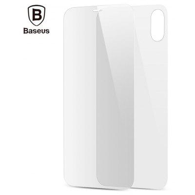 Baseus Tempered Glass Set Front   Back Film Shatterproof Screen Protector for iPhone 8