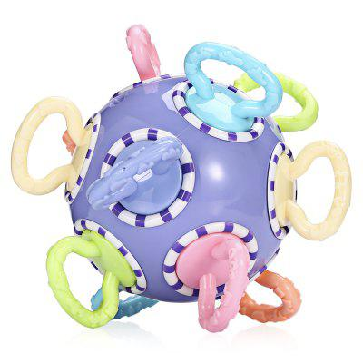 Second Generation TPU Baby Ball Roundness Teether Rattle ToyOther Educational Toys<br>Second Generation TPU Baby Ball Roundness Teether Rattle Toy<br><br>Age Range: &gt; 3 Months<br>Material: TPU<br>Package Contents: 1 x Teether Ball<br>Package Size(L x W x H): 13.00 x 13.00 x 13.00 cm / 5.12 x 5.12 x 5.12 inches<br>Package weight: 0.2120 kg<br>Product weight: 0.1300 kg