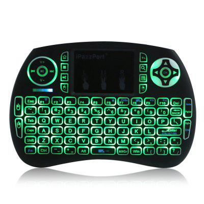iPazzPort 21S Mini KeyboardAir Mouse<br>iPazzPort 21S Mini Keyboard<br><br>Brand: iPazzPort<br>Full Size keyboard: Yes<br>Interface Type: USB<br>Package Contents: 1 x iPazzPort 21S Wireless Keyboard<br>Package Size(L x W x H): 18.50 x 11.00 x 2.00 cm / 7.28 x 4.33 x 0.79 inches<br>Package weight: 0.1900 kg<br>Product Size(L x W x H): 14.60 x 10.00 x 1.40 cm / 5.75 x 3.94 x 0.55 inches<br>Product weight: 0.1130 kg<br>Type: 2.4GHz Wireless<br>Wi-Fi Range: 10m