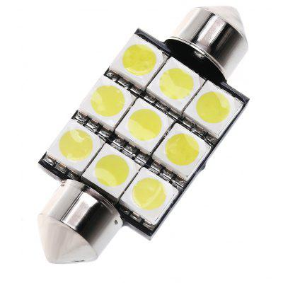 SCOE 39MM 6B 9 SMD LED Car Reading Lamp