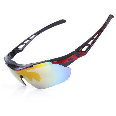 Buy DEEP RED Robesbon TSR838 Cycling UV Protection Polarized Sunglasses for $14.71 in GearBest store