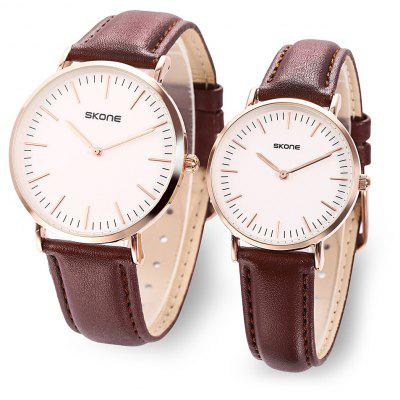 SKONE 9451 Couple Quartz Watch