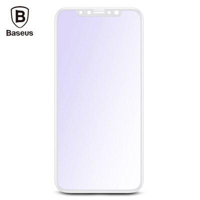 Baseus Silk screen 3D Soft PET Edge Tempered Glass Film Anti blue Shatterproof Screen Protector for iPhone 8 0.23mm