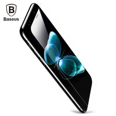 Baseus Tempered Glass Shatterproof Non Full Screen Protective Film (Secondary Hardening) for iPhone 8 0.15mm