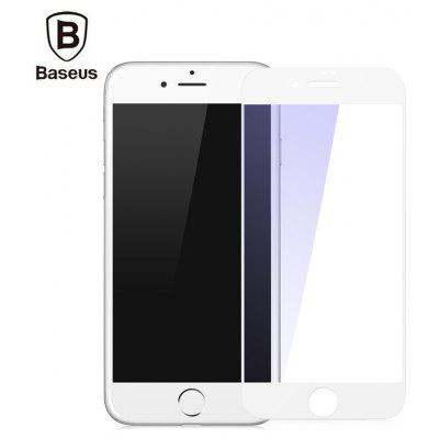 Baseus Silk-screen Tempered Glass Film Anti-blue Full-screen Shatterproof Protector for iPhone 8 Plus 0.2mm