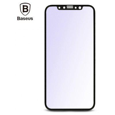 Baseus Full frosted Anti blue Tempered Glass Film for iPhone X 225298401