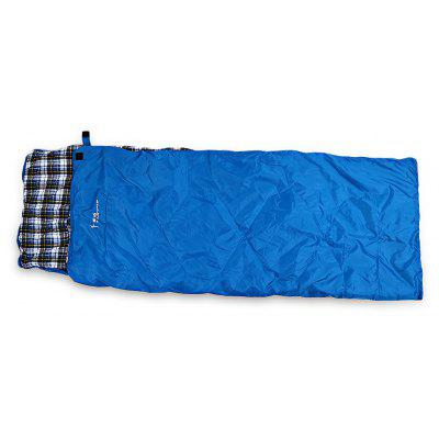 FLYTOP Envelope Style Thickened Cotton Sleeping Bag