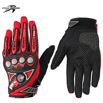 Buy RED PROBIKER MCS 23 Motorcycle Racing Gloves for $8.71 in GearBest store