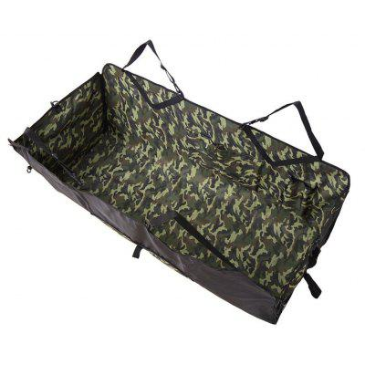 Collapsible Waterproof Camouflage Pattern Oxford Fabric Pet Protector Rear Back Seat Cover Cars Mat