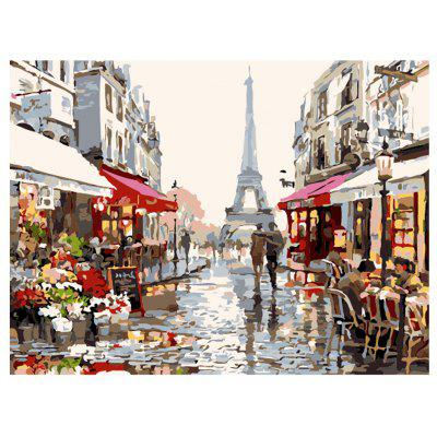 Urban Landscape DIY Digital Oil Hand Painting Wall Decor