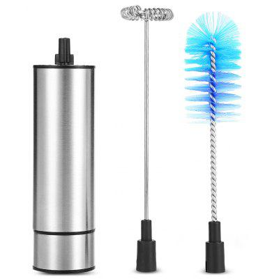 Multifunctional Stainless Steel Handheld Electric Milk Frother