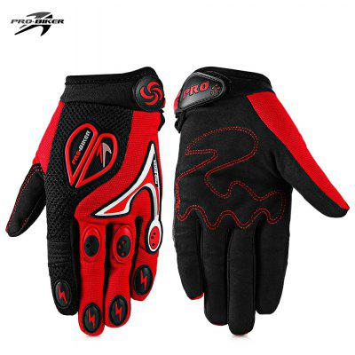 Buy RED PROBIKER CE 06 Motorcycle Racing Gloves for $10.34 in GearBest store