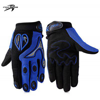 Buy BLUE PROBIKER CE 06 Motorcycle Racing Gloves for $10.34 in GearBest store
