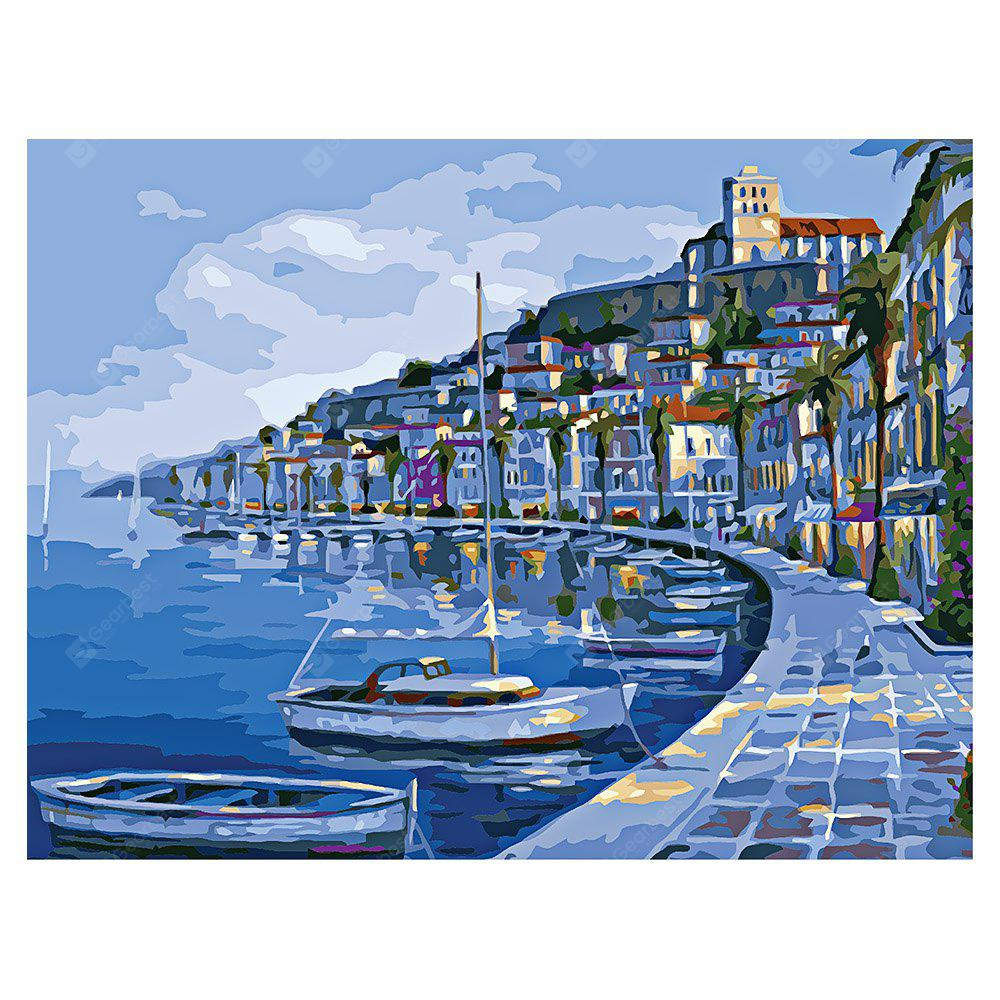 COLORMIX Seaside DIY Digital Oil Painting Art Home Wall Decoration