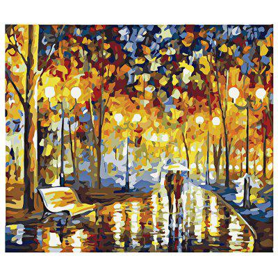 Buy COLORMIX Night DIY Digital Oil Painting Art Home Wall Decoration for $7.49 in GearBest store