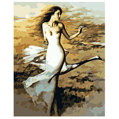 Buy COLORMIX Dancer DIY Digital Oil Painting Art Home Wall Decoration for $8.48 in GearBest store