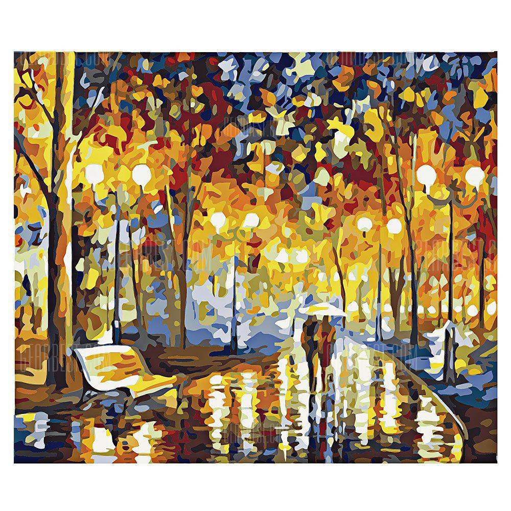 COLORMIX Night DIY Digital Oil Painting Art Home Wall Decoration