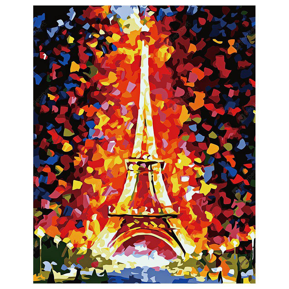 Iron Tower DIY Digital Oil Painting Art Home Wall Decoration