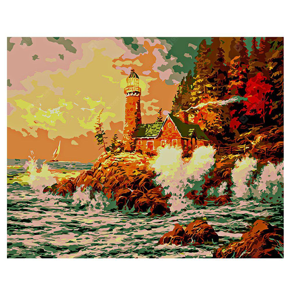 Lighthouse DIY Digital Oil Painting Art Wall Decoration