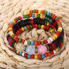 Bohemian Colorful Bead Women Wrap Bracelet - COLORMIX