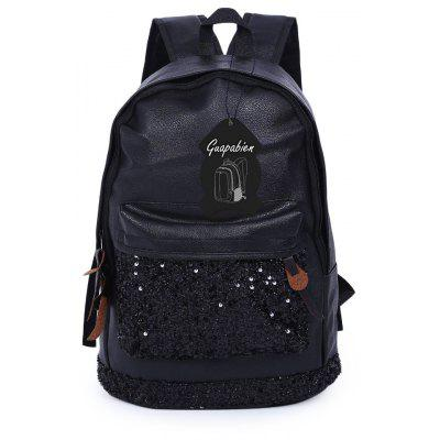 Guapabien Casual  Sequins Decoration Shoulder Bag for Ladies