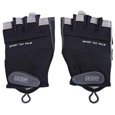 BOER Paired Men Half Finger Gloves