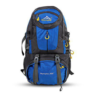 Buy LIGHT BLUE HUWAIJIANFENG 50L Unisex Outdoor Climbing Backpack for $26.39 in GearBest store