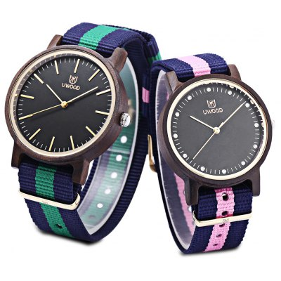 UWOOD UW - 1006 Couple Quartz Watch