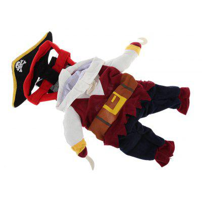 Pet Dog Halloween Pirate Costume