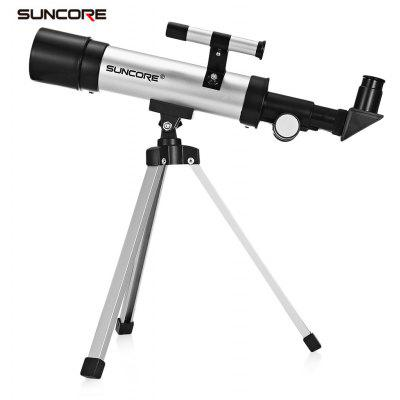 SUNCORE F36050 360 / 50mm Outdoor Monocular Space Astronomical Telescope with Portable Tripod Phone Holder Spotting Scop