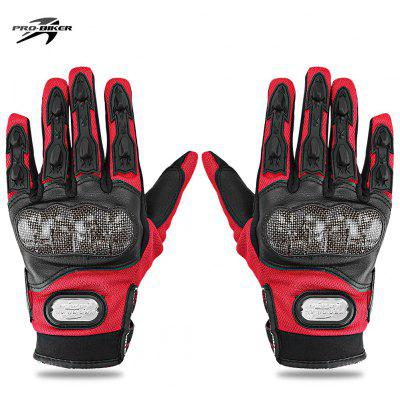 Buy RED L PROBIKER MCS 13 Motorcycle Racing Gloves for $11.04 in GearBest store