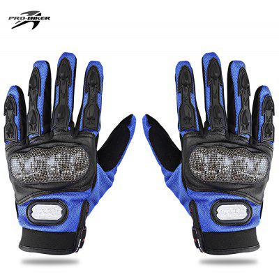 Buy BLUE L PROBIKER MCS 13 Motorcycle Racing Gloves for $11.04 in GearBest store