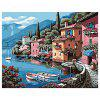 Small Town DIY Digital Oil Painting Art Home Wall Decoration - COLORMIX
