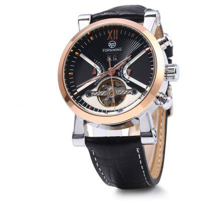 Forsining Men Tourbillon Automatic Mechanical Watch