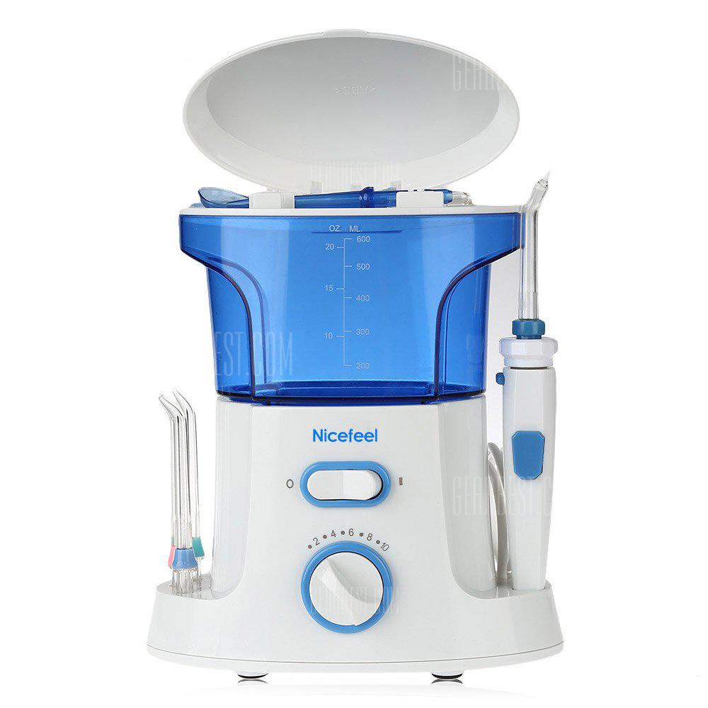Nicefeel Water Jet Tooth SPA Blanchiment des dents Irrigateur oral