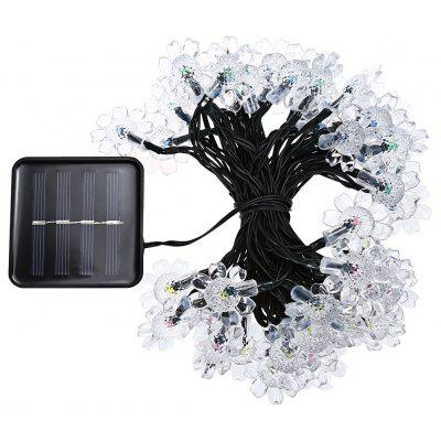Buy COLORFUL LCT SLC 036 50 LEDs Flower Blossom Solar String Light Decoration for $13.80 in GearBest store