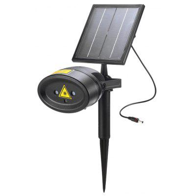 SLLY14 Waterproof Solar Powered Laser Light