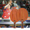 BOER Raquette De Tennis De Table Raquette Ping Pong - OR DE ROSE