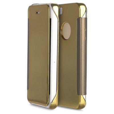 Mirror Flip Cover PC Case for iPhone 5 / 5S / SE